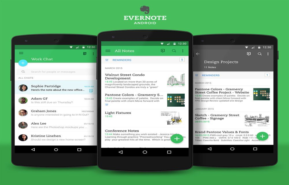 Evernote apps app