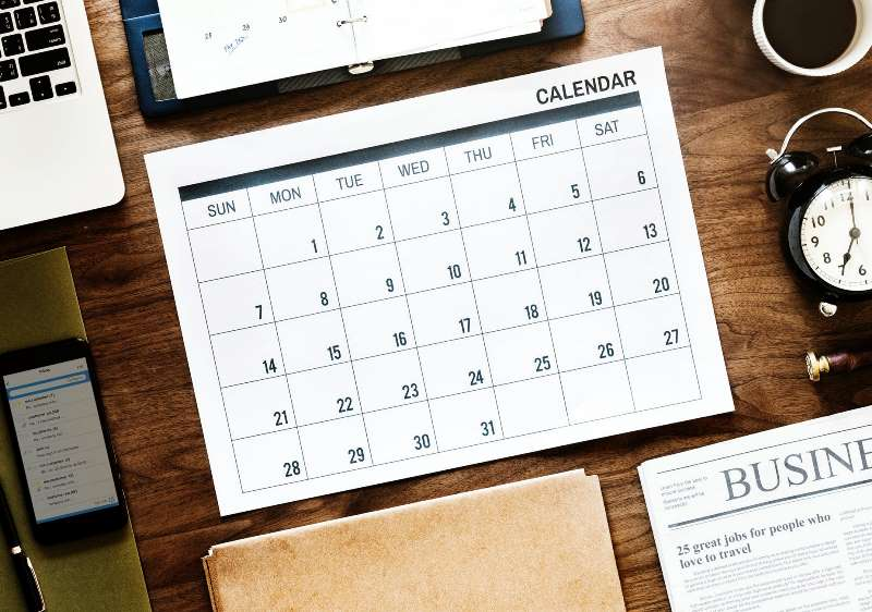 calendar - email marketing