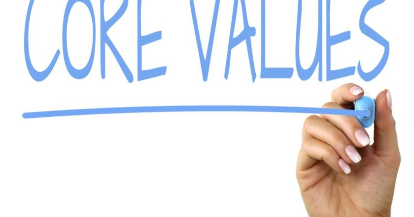 business values values